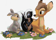 Bambi & Friends Counted Cross Stitch Kit, Disney, Tv/Film Cartoon Characters