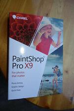 Corel Paintshop Pro X9 - Photo & Design Software for Windows - Full Version