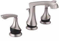 """NEW Delta Merge Spotshield 8"""" Bathroom 2 Handle Faucet Nickel Black 35750LF-SPBL"""
