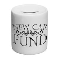 New Car Fund Novelty Ceramic Money Box