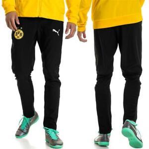 Puma BVB Borussia Dortmund Herren Leisure Trainingshose Sporthose