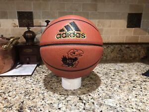 Official Adidas Pro NCAA Kansas Jayhawk Game Ball Spalding Basketball Men's 29.5