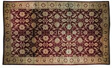 Colossal 19 x 28 feet Handmade Burgundy Rug for sale Largest Mansion Peshawar