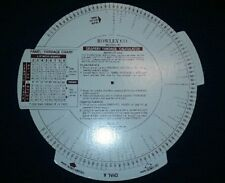 1989 VTG Rowley Co. DRAPERY YARDAGE CALCULATOR
