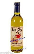 Magnet bouteille HUILE d'OLIVE aimant publicitaire pub ancienne producteur Nice