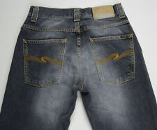 EUC RRP $249 Mens or Boys Stunning Nudie Jeans 'LOW SLIM JIM' Grey Jeans W28 L32