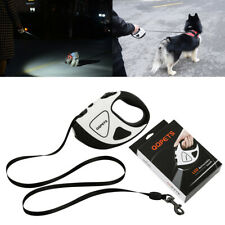 5M Dog Traction Rope Automatic Retractable Leash Outdoor With LED Lights