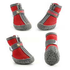 Non-Slip Dog Boots Waterproof Shoes Reflective Paw Protector Booties Breathable