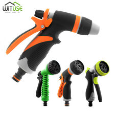 4/7/8 Patterns Hose Nozzle Kit For Garden Watering Car Cleaning Pet Showering E