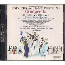 RODGERS AND HAMMERSTEIN - Cinderella - JULIE ANDREWS CD OST 1999 USATO GOOD COND