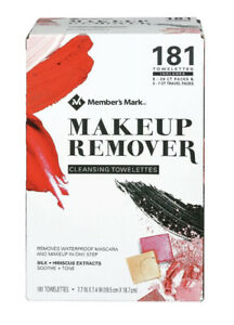 Member's Mark | Makeup Remover Cleansing Towelettes | 181 ct
