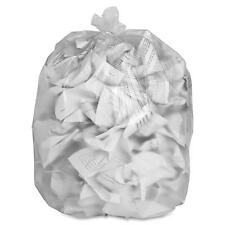 """Special Buy Trash Bag Liners 43""""x46"""" 14 mic High Density 200/CT Clear HD434814"""