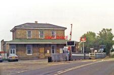 PHOTO  1994 DARSHAM RAILWAY STATION VIEW SOUTHWARD ON A12 ROAD: LEVEL-CROSSING O