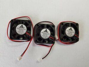 3PCS Gdstime Small DC Cooling Fan 24V 2Pin 9 Blades 4010  40m mx40mm x 10mm