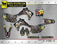 Honda CRf 450R 2013 up to 2016 graphics decals sticker kit Moto StyleMX