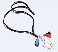 MARNI H&M  Leaf & Tassel Pendant  Necklace
