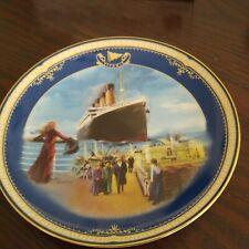 On The Promenade Plate Titanic: Queen of the Ocean #3 James Griffin Bradford Coa