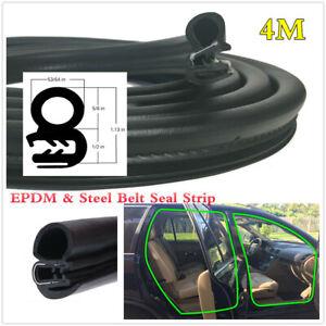 Car Body Door Seals EPDM & Steel Belt Weatherstrip OEM Replacement Accessories