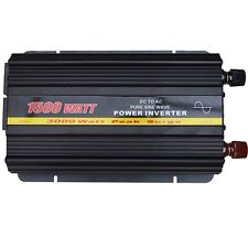 Onda Senoidal Pura 1500 Watt Power Inverter Dc 12v A Ac 240v