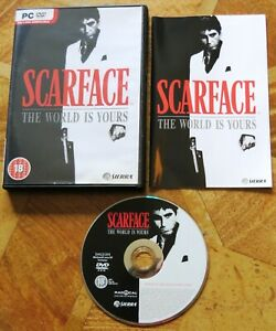 Scarface: The World Is Yours (PC DVD-ROM) PC Game - Free UK Post - V.G.C.