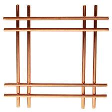 Cross Copper Kitchen Worktop Trivet Surface Protector Hot Pan Pot Stand Holder
