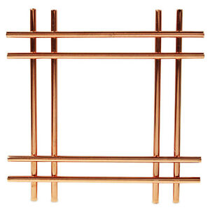 Cross Copper Kitchen Worktop Trivet Surface Protector Hot Pan Pot Stand Holder