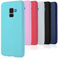 Bumper Cover for Samsung Galaxy A8 / A5 2018 Rubber Soft Shell Smartphone Case