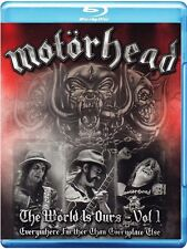 MOTORHEAD THE WORLD IS OURS Everywhere Further VOL 1 Blu-ray New Motörhead Wörld