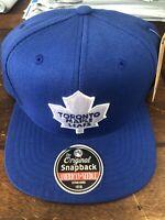 Toronto Maple Leafs Blue Wool NHL Snapback Hat American Needle Licensed New Cap