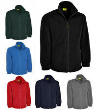Mens Full Zip Classic Fleece Jackets Size XS to 4XL SPORTS WORK CASUAL - MIG 604