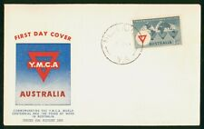 Mayfairstamps Australia FDC 1955 YMCA Guthrie Medlands WA First Day Cover wwp797