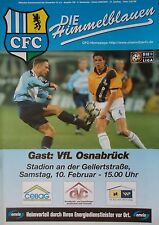 Programm 2000/01 Chemnitzer FC - VfL Osnabrück