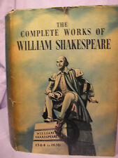 The Complete Works of William Shakespeare HC DJ printed in Poland undated