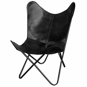Hiking Leather Butterfly Relax Arm Chair Home Décor Living Room Folding Chair