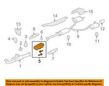HONDA OEM 09-11 Pilot 3.5L-V6-Catalytic Converter 18160RN0A00