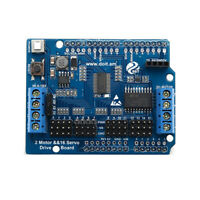 2 Channel Motor + 16 Channel Servo Expansion Board For Arduino UNO Smart Car Cha