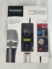 Saramonic SmartRig II Audio Adapter For Professional Microphone/Guitars OPEN BOX