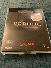 F/S Exc* Sigma DG Filter UV 67mm Ultra-low Reflection Multi Coating