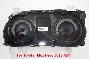 GENUINE TOYOTA HILUX REVO ROCCO 2018 SPEED METER GAUGES FOR M/T 83800-FD240-B