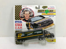 Road Champs 1:87 Scale Kenworth Rusty Wallace #2 Racing Team Transporter