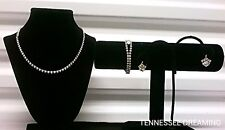 WEISS VINTAGE NECKLACE, BRACELET, AND EARRING SET A3