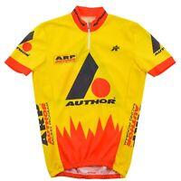 Assos da Uomo Ciclismo Top Gara Abbigliamento Taglia M Media Manica Corta Zip