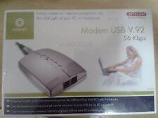 sitecom modem /  fax 56 kbps  usb nuovo