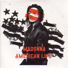 CD Single MADONNA American life 2-track CARD SLEEVE NEW