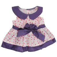 "SUMMER FLOWER DAISY DRESS - FITS 16"" /40cm BUILD A TEDDY BEAR CLOTHES"