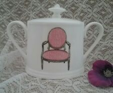Christopher Vine design Australia sugar bowl with lid Inhesion fine bone china