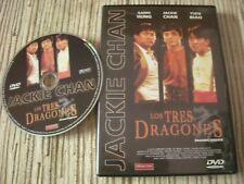 DVD PELICULA LOS TRES DRAGONES SAMO HUNG JACKIE CHAN USADO BUEN ESTADO