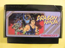 Dragon Ninja / Bad Dudes (Nintendo Famicom FC NES, 1989) Japan Import