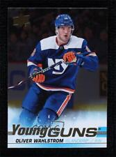 2019-20 Upper Deck Young Guns Silver Foil Oliver Wahlstrom #457 Rookie