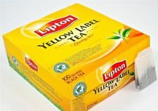 3 X Lipton Yellow Label Tea 100 Tea Bags  300 Teabags Supplied  Free UK Delivery
